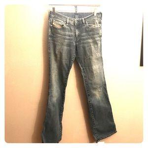 Diesel boot-cut jeans